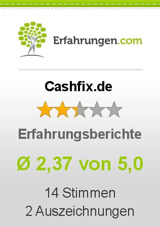 Cashfix.de Erfahrungen