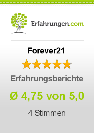 Forever21 Erfahrungen
