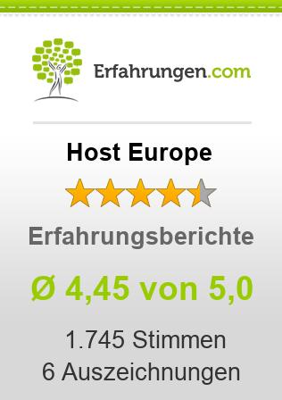 Host Europe Erfahrungen