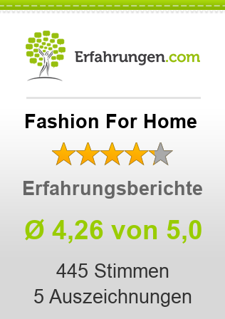 Fashion For Home Erfahrungen