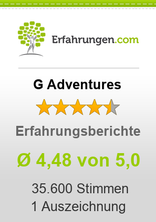 G Adventures Bewertungen