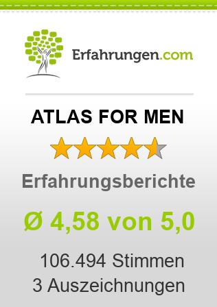 ATLAS FOR MEN Erfahrungen