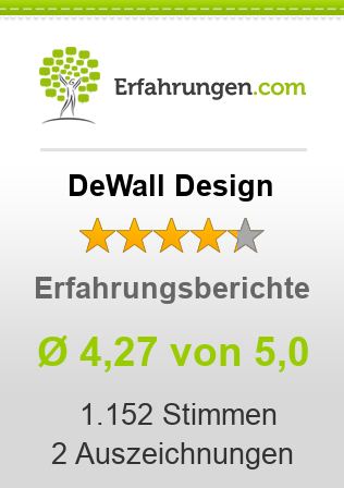 DeWall Design Bewertungen
