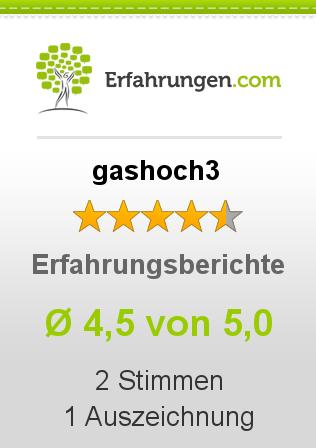 gashoch3 Erfahrungen