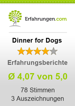 Dinner for Dogs Erfahrungen