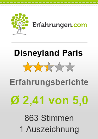 Disneyland Paris Bewertungen
