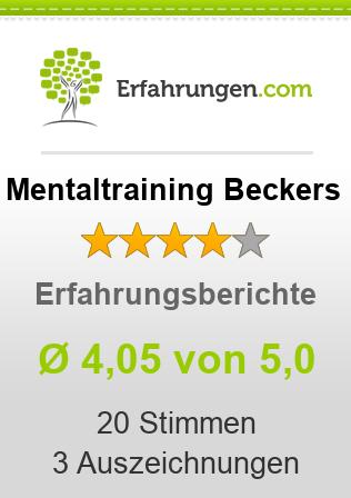 Mentaltraining Beckers Erfahrungen