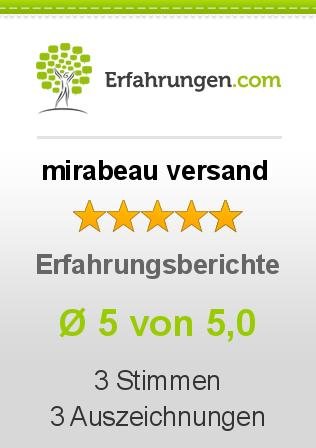 mirabeau versand erfahrungen aus 3 bewertungen 5 5 im test. Black Bedroom Furniture Sets. Home Design Ideas