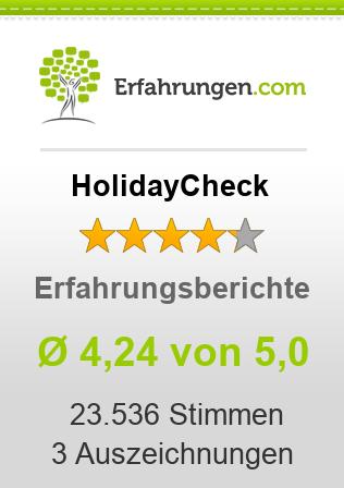 HolidayCheck Erfahrungen