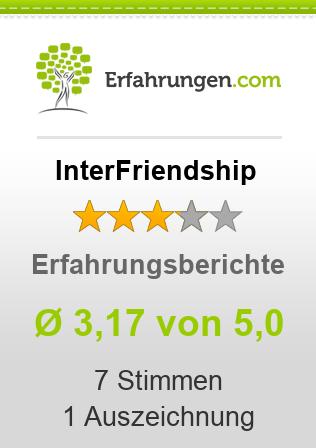 ᐅ InterFriendship Erfahrungen aus 3 Bewertungen » 3.4/5 im