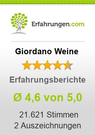 Giordano Weine Erfahrungen