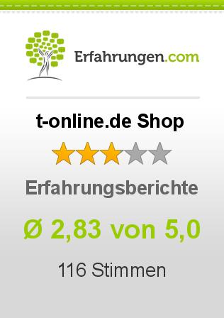 t-online.de Shop Erfahrungen