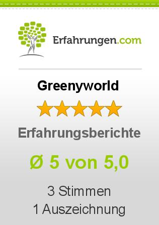 Greenyworld Erfahrungen