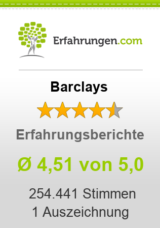 Barclays Erfahrungen
