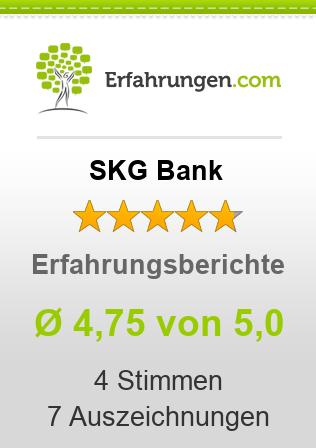 SKG Bank Erfahrungen