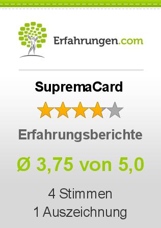 SupremaCard Erfahrungen