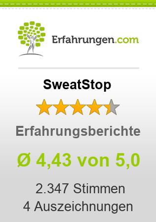 SweatStop Erfahrungen
