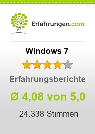 Windows 7 Erfahrungen