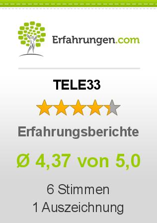 TELE33 Erfahrungen