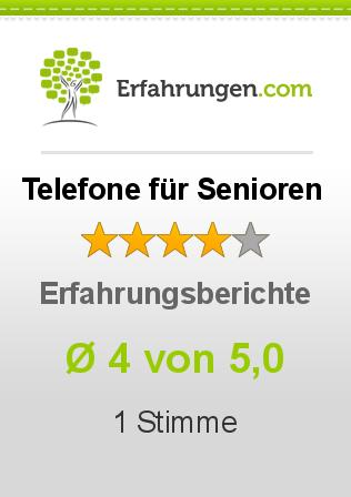 Telefone für Senioren Erfahrungen
