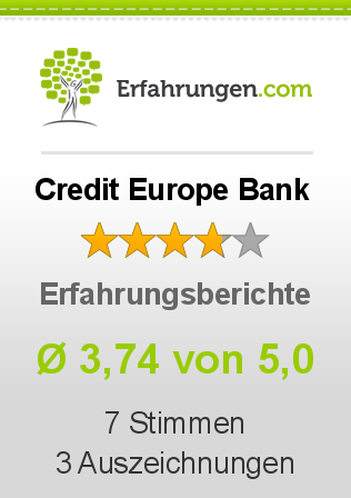 Credit Europe Bank Bewertungen