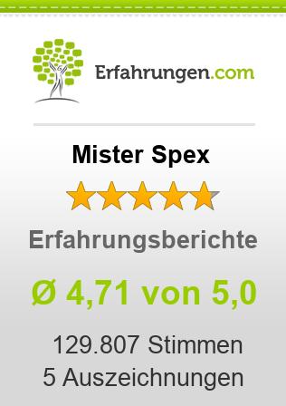 Mister Spex Erfahrungen