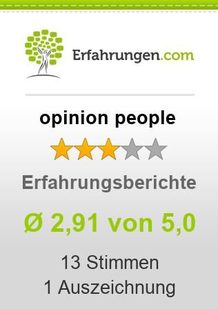opinion people Erfahrungen