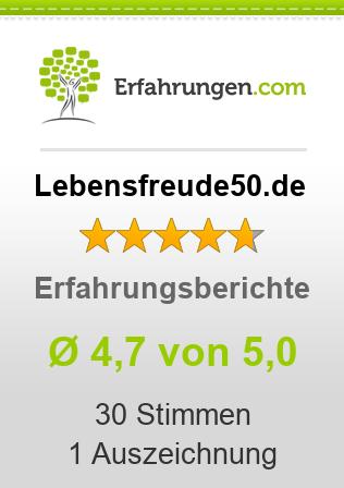 Lebensfreude50.de Erfahrungen