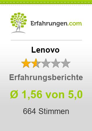 Lenovo Erfahrungen
