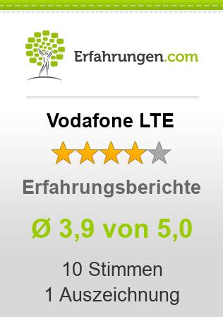 Vodafone LTE Erfahrungen