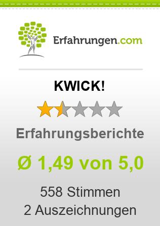 KWICK! Erfahrungen