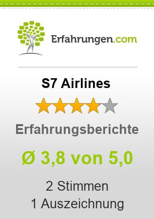 S7 Airlines Erfahrungen