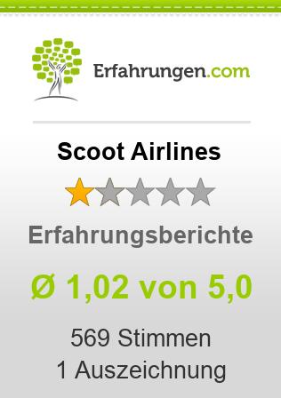 Scoot Airlines Erfahrungen