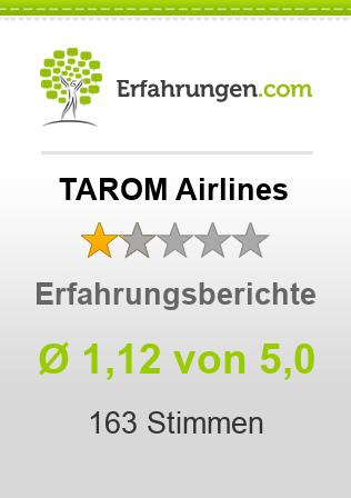 TAROM Airlines Erfahrungen
