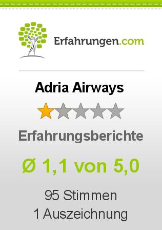 Adria Airways Erfahrungen