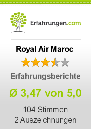 Royal Air Maroc Bewertungen