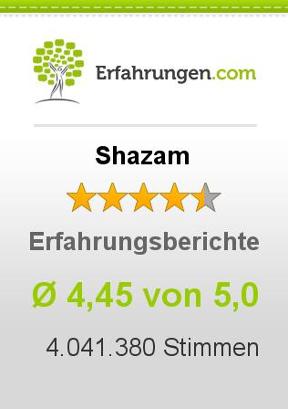 Shazam Erfahrungen