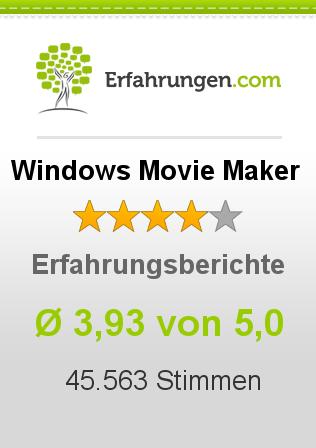 Windows Movie Maker Erfahrungen