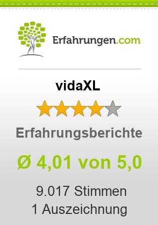 vidaXL.de Erfahrungen