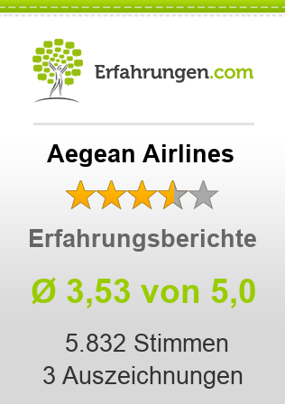 Aegean Airlines Erfahrungen
