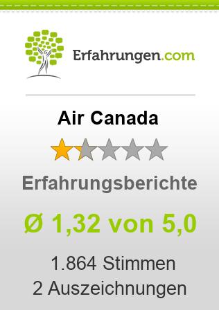 Air Canada Erfahrungen