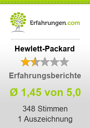 Hewlett-Packard Erfahrungen