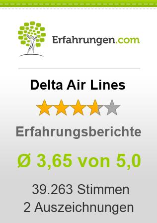 Delta Air Lines Erfahrungen