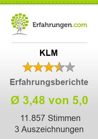 KLM Erfahrungen
