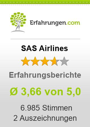 SAS Airlines Erfahrungen