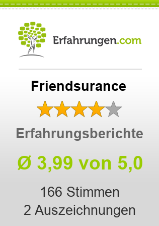 Friendsurance Bewertungen