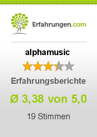 alphamusic Erfahrungen