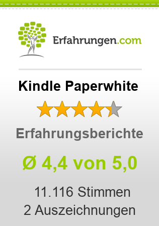 Kindle Paperwhite Bewertungen