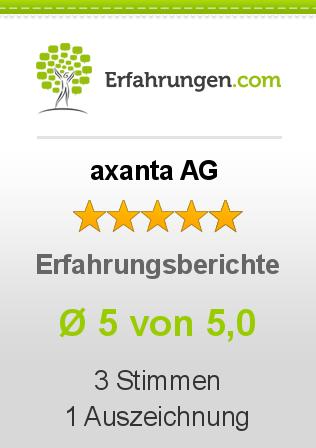 axanta AG Erfahrungen