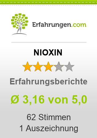 ᐅ NIOXIN Erfahrungen aus 59 Bewertungen » 3.4/5 im Test